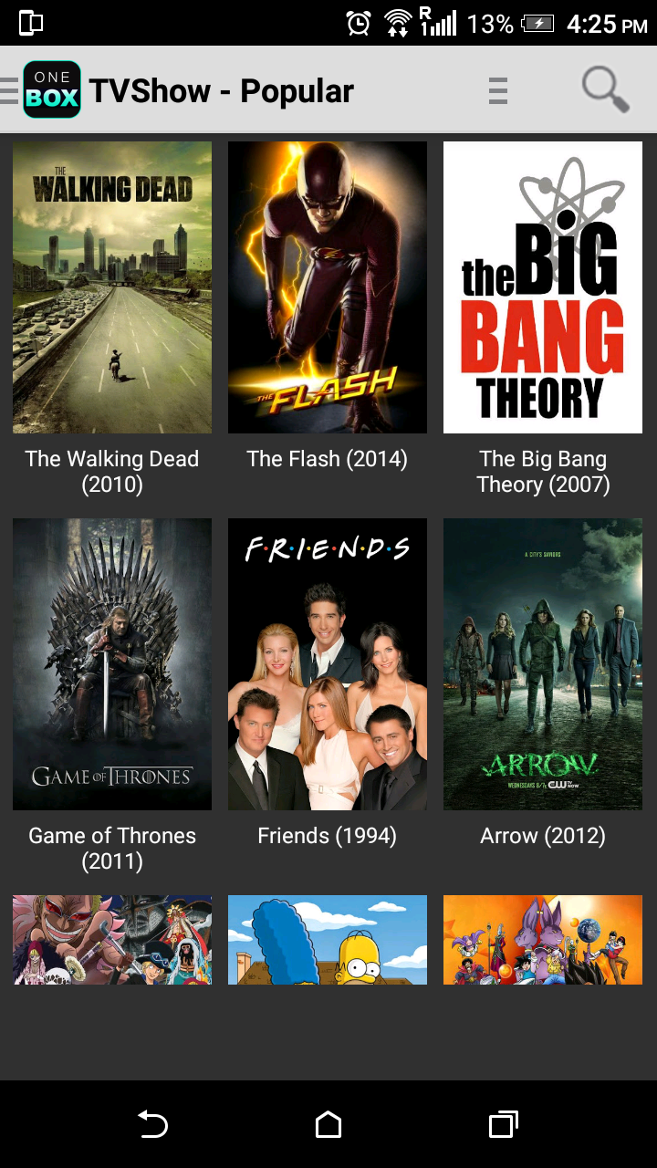 onebox hd latest app