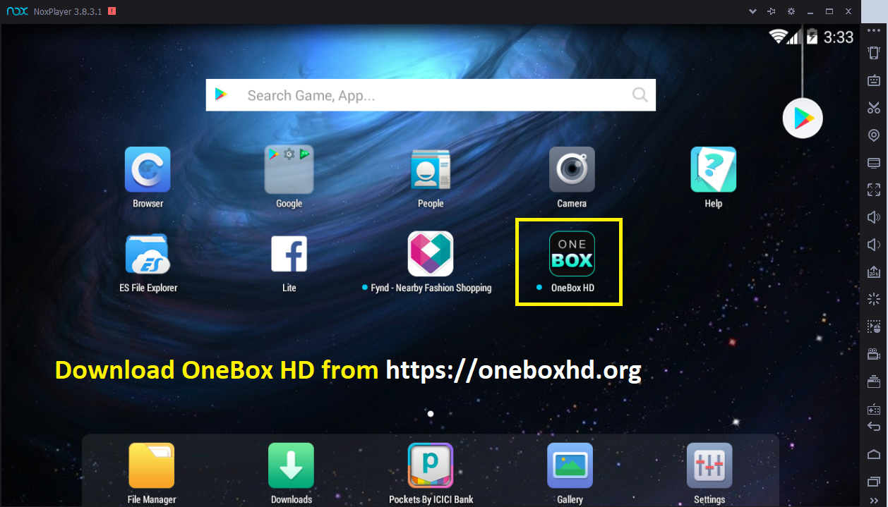 onebox hd for pc | download one box hd apk on pc/laptop